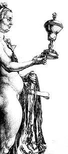 nemesis (Dürer, Ausschnitt)