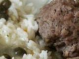 Königsberger Klopse - natürlich auch bei Reisdiäten