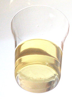 Pflanzenöl, vor der Verbrennung