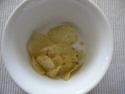 Chips-essen oder Speisen?