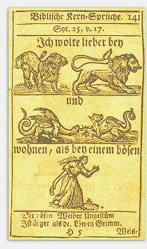 Lieber bei Löwen