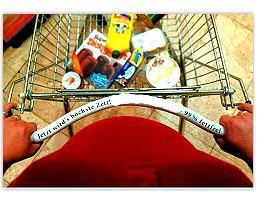 Diät im Einkaufswagen, oder Diät im Eimer
