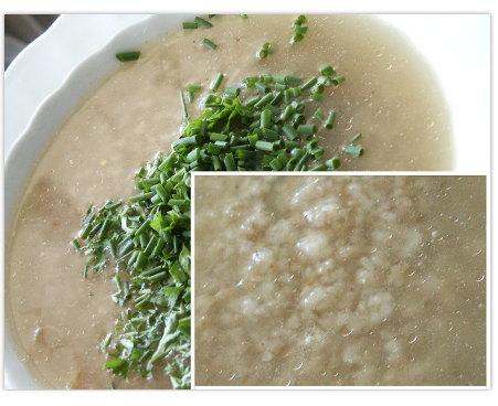eingebrannte Reissuppe