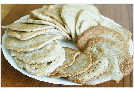 Pfannkuchen aus Buchweizen und Kartoffeln, glutenfrei
