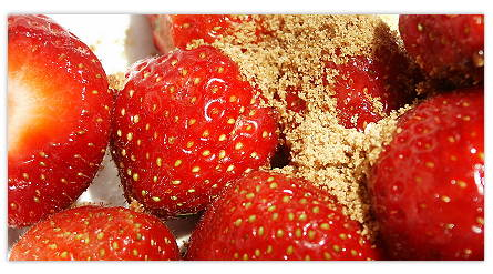 Gesunde Süßigkeit, lustvoll zu geniessen