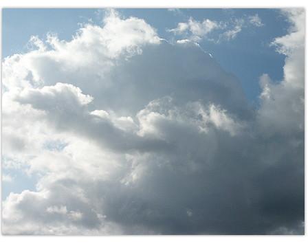 Wolken-Wetter-Phantasie