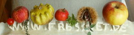 Äpfel, Kürbis, Kräuter