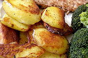 Bild: Bratkartoffeln, relativ fettarm