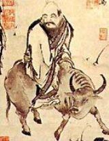 Lao-Tse auf dem Ochsen