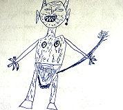 Zeichnung: Teufel