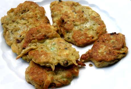Bild zum Rezept: Pfannküchlein mit Avocado