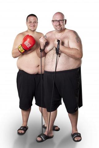 Onkel und Neffe, bereit zum Abnehmen bei Biggest Loser
