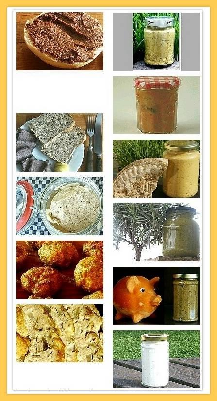 Brotaufstrich und Brotbelag