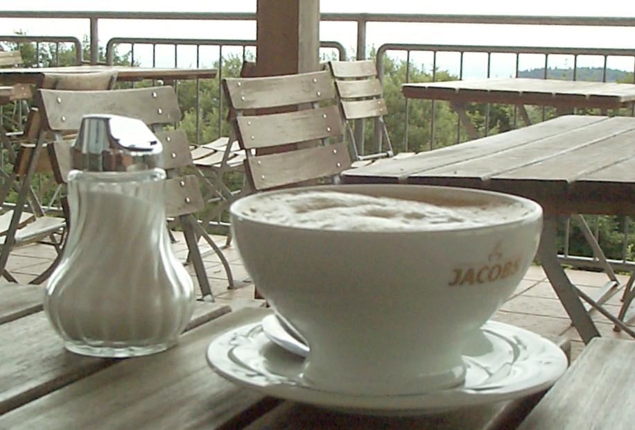 Schale mit Kaffee