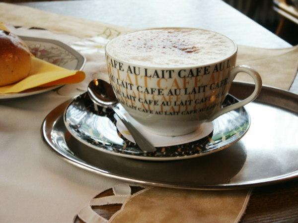 Kaffee in Hanhstätten