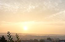 Sonnenaufgang - 26. August 2009, Idstein
