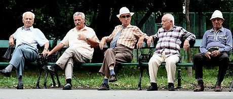 Bild zum Tag des MAnnes: Fünf Männer