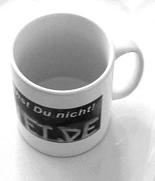 Fair Trade und die verwettete Tasse...