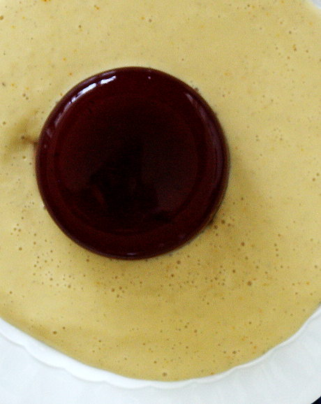 Zwetschgenspeise mit Agar-Agar